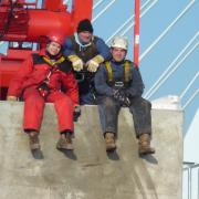 working at height on cranes